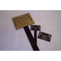 Bute Memorial Markers