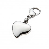 Key Ring - Curved Heart