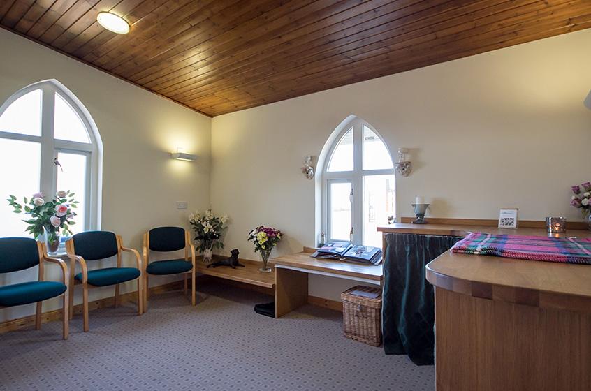 Saying Goodbye at the Crematorium